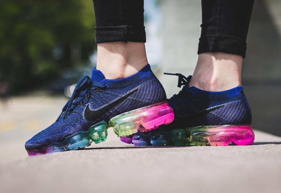 Chaussure Nike Air Vapormax Flyknit Be True Rainbow (arc-en-ciel) (2)