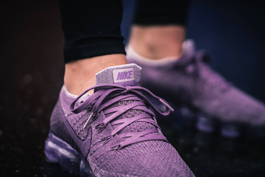 Chaussure Nike Air Vapormax Flyknit Violet Dust Day to Night (4)