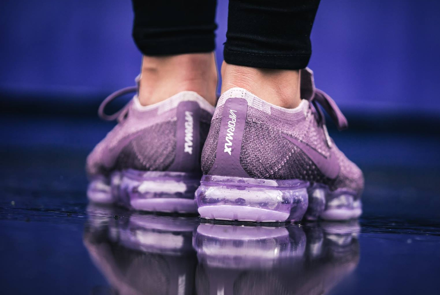 Chaussure Nike Air Vapormax Flyknit Violet Dust Day to Night (6)