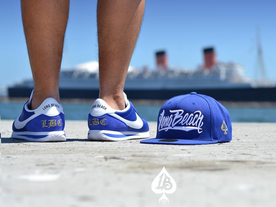 Chaussure Nike Cortez Basic Nylon Long Beach (45ème anniversaire) (2-3)