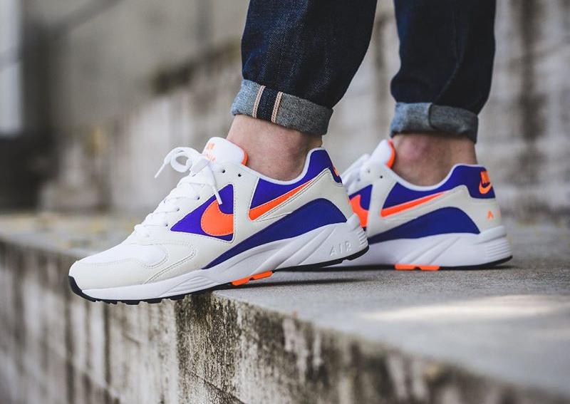 Chaussure Nike Icarus Extra Radiant Orange Purple (2)