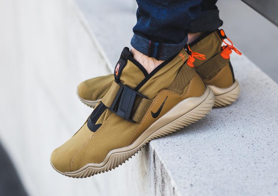 Chaussure NikeLab ACG 07 KMTR Komyuter Golden Beige (1-1)
