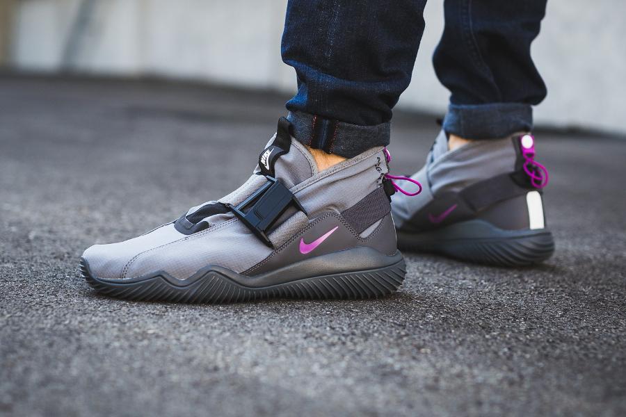 Chaussure NikeLab ACG 07 KMTR Komyuter Grey Magenta (1)