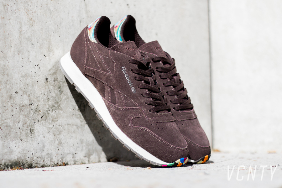 Chaussure Reebok Classic Leather Munchies Marron (1)