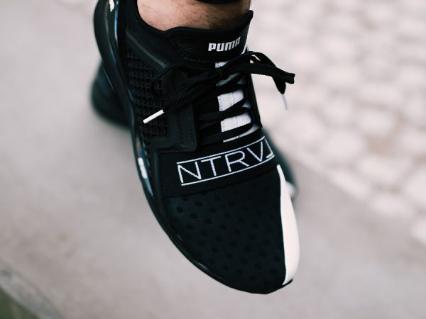 Chaussure Staple x Puma Ignite Limitless NTRVL Black Pigeon