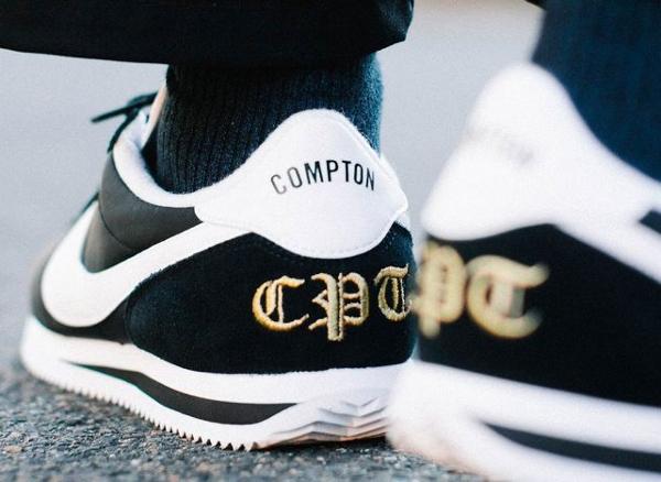 Chaussures Nike Cortez Basic Nylon CPT Compton (XLV) (1)