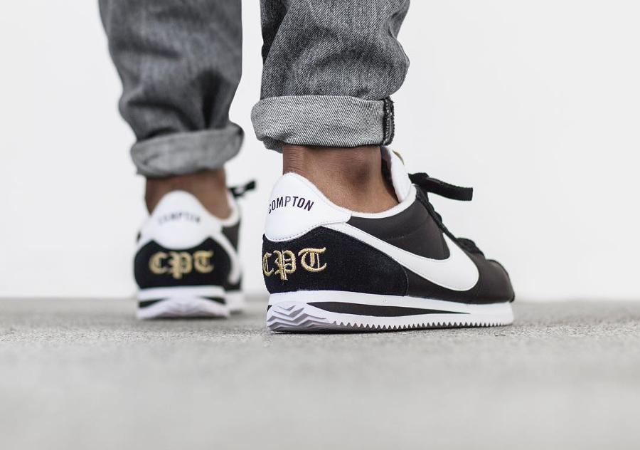 Chaussures Nike Cortez Basic Nylon CPT Compton (XLV) (2)