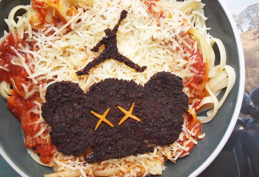 Kaws x Air Jordan Food Art