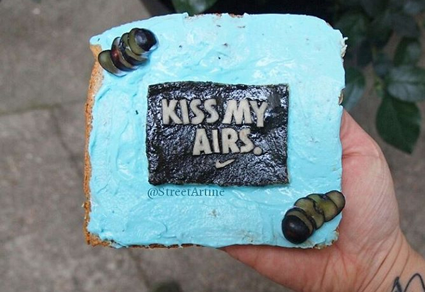 Kiss My Air Food Art
