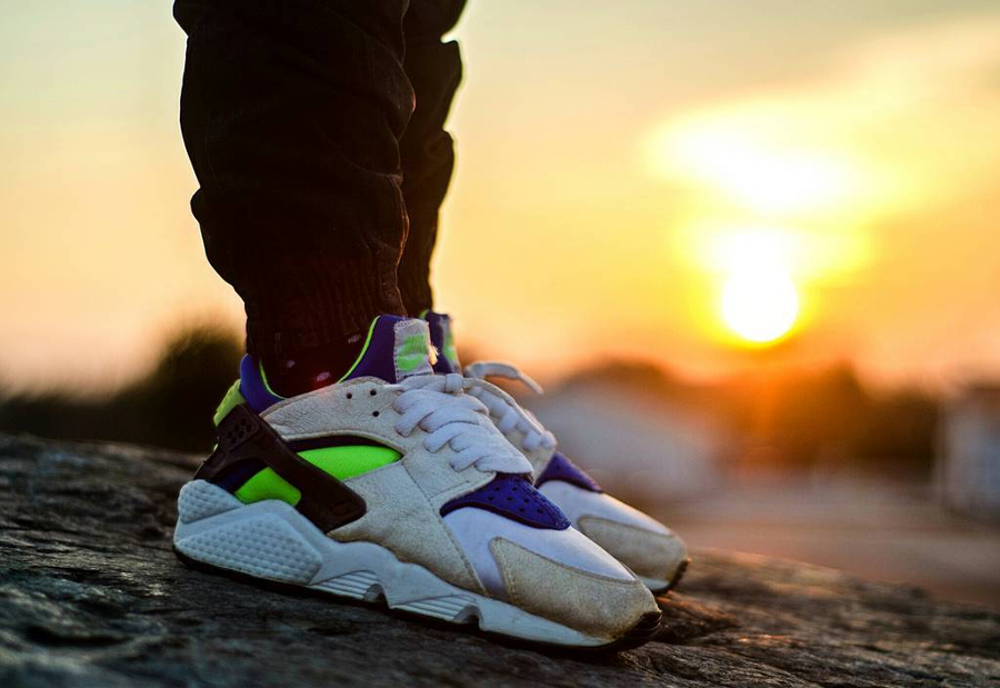 Nike Air Huarache OG Scream Green - @sneakersian