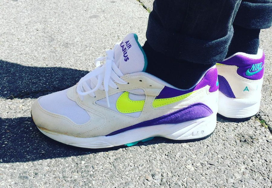 Nike Air Icarus Extra Grape (1993) - @lafrite83