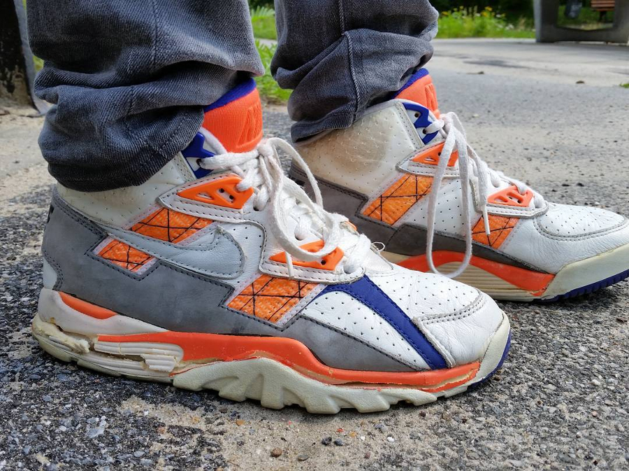 Nike Air Trainer SC III Auburn 1990 - @chrissie_asics