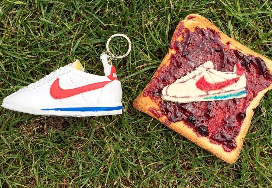 Nike Cortez Forrest Gump Food Art