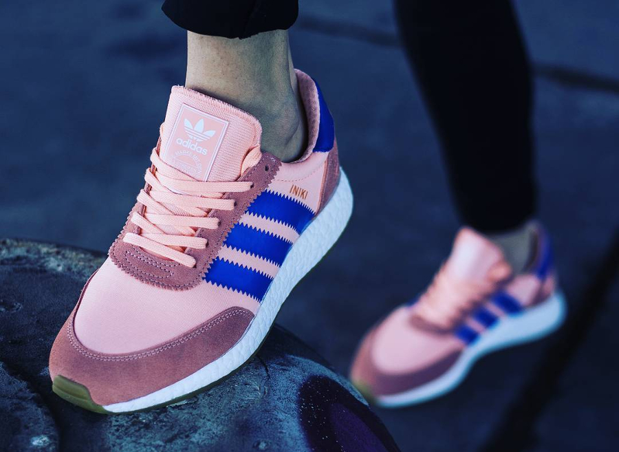 Adidas Iniki Runner Haze Coral - @kristi_stylee
