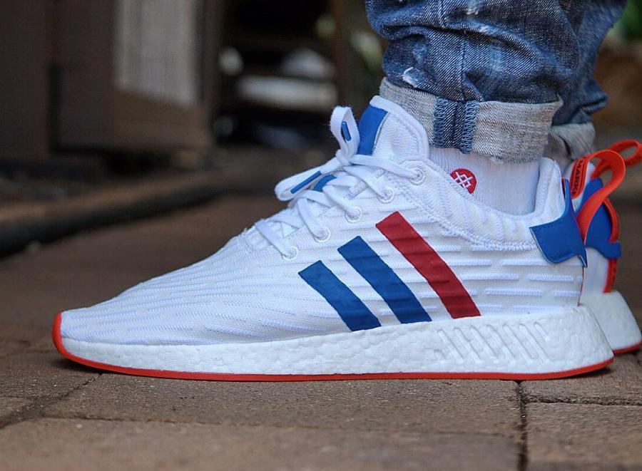 Adidas NMD R2 RWB - @kicksoophilthy