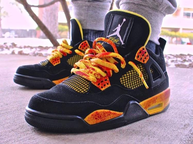 Air Jordan 4 Retro Kill Bill - @ecl_freak_nasty
