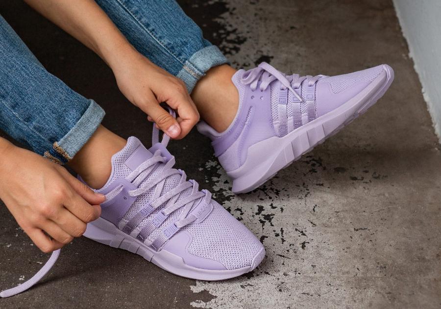 Basket Adidas Equipment Support ADV W violet (1)