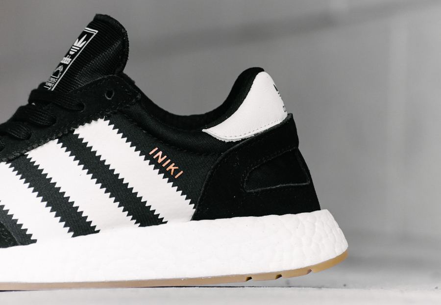 Adidas Iniki Runner Boost Noir 'Black Gum' : où l'acheter ?