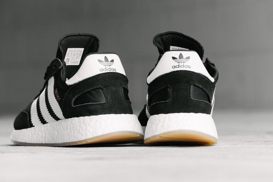 Basket Adidas Iniki Runner Black Gum (3)
