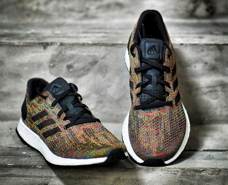 Basket Adidas Pure Boost DPR Limited Rainbow (2)