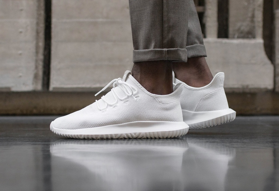Basket Adidas Tubular Shadow White (2)