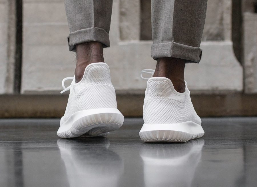 Basket Adidas Tubular Shadow White (3)