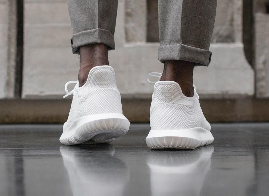 Basket Adidas Tubular Shadow White (3)