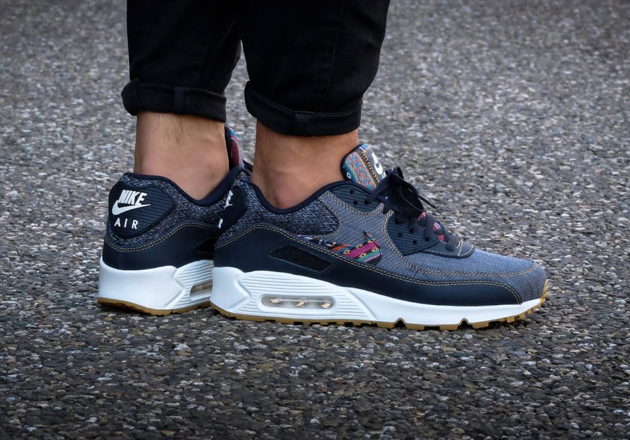 Basket Nike Air Max 90 Premium Afro Punk (2)
