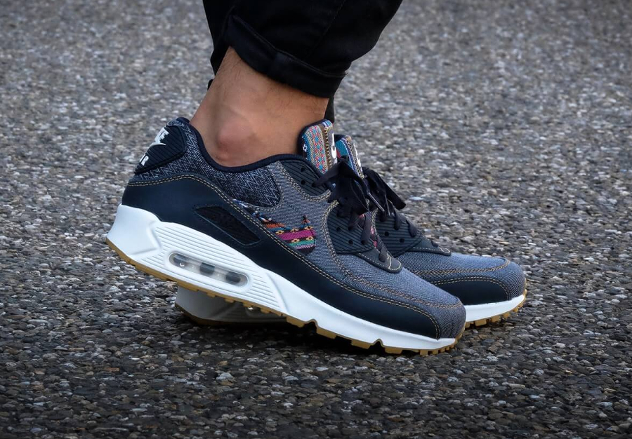 Basket Nike Air Max 90 Premium Afro Punk (3)