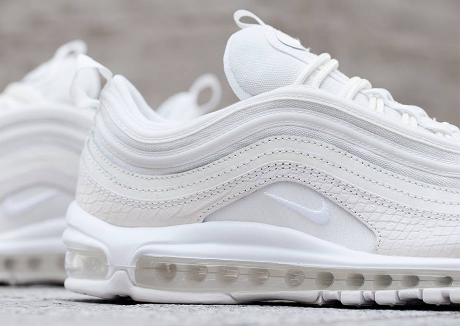 Basket Nike Air Max 97 Snakeskin Summit White (3)