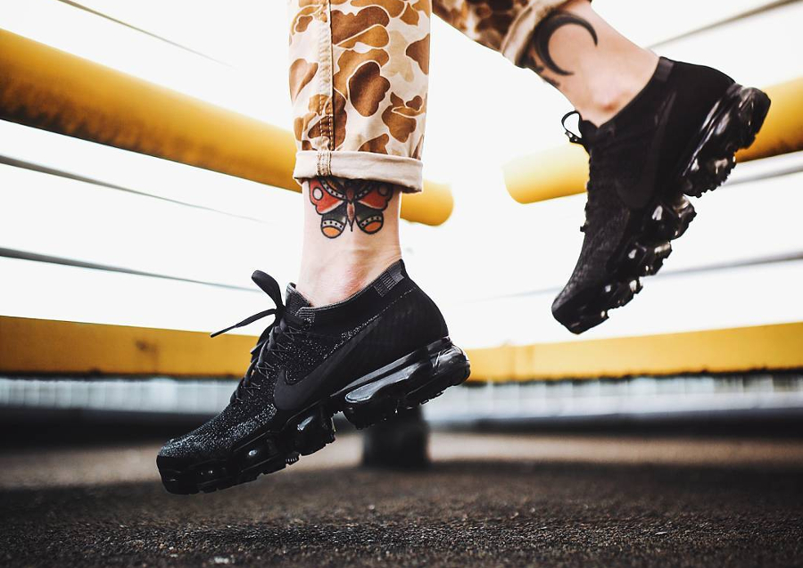 Basket Nike Air Vapormax Black Anthracite (2)
