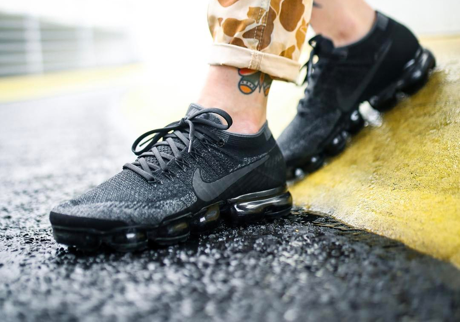 Basket Nike Air Vapormax Black Anthracite (3)