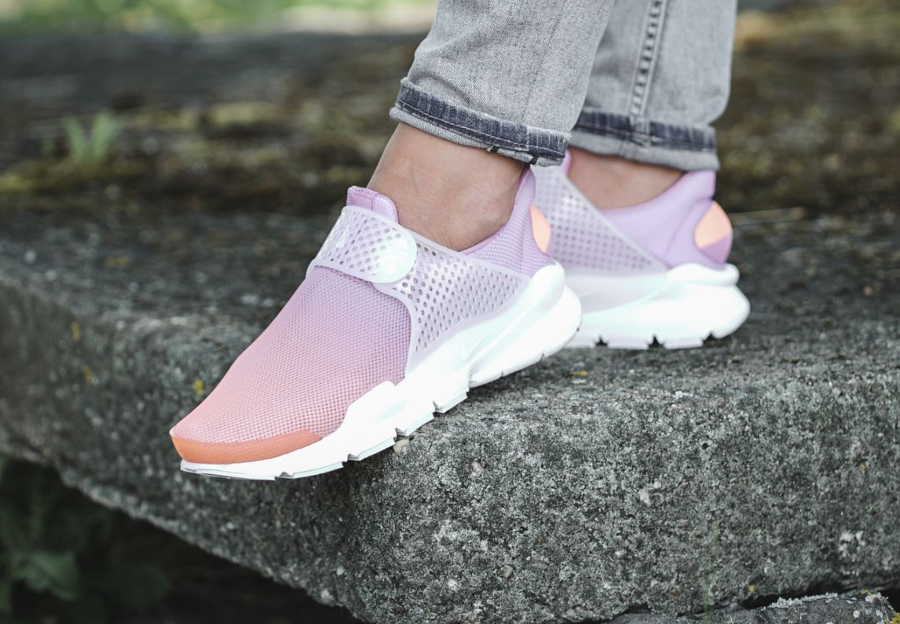 Basket Nike Wmns Sock Dart Breathe Sunset Glow (1)