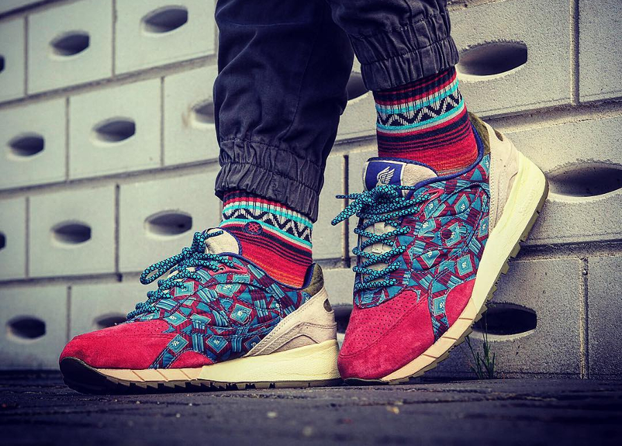 Bodega x Saucony Shadow 6000 African Print - @jo__yeux