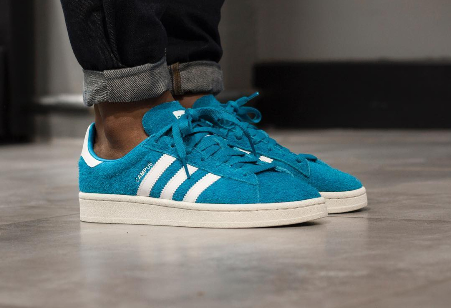 Chaussure Adidas Campus homme Bold Aqua (1)