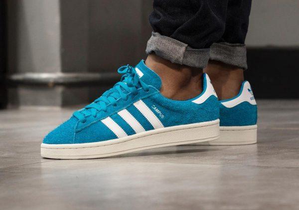 Chaussure Adidas Campus homme Bold Aqua (2)