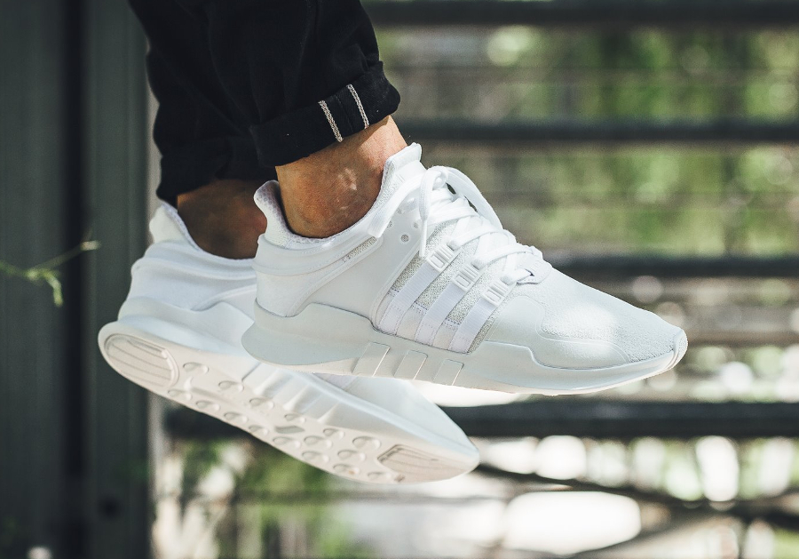 Chaussure Adidas EQT Support ADV Blanche (homme femme) (1)