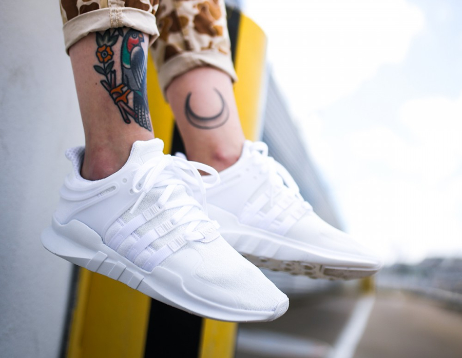 Chaussure Adidas EQT Support ADV Blanche (homme femme) (2)