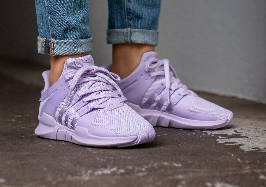 Chaussure Adidas EQT Support ADV W Purple Glow femme (2)