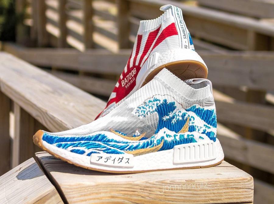 Adidas NMD CS1 'Hokusai'