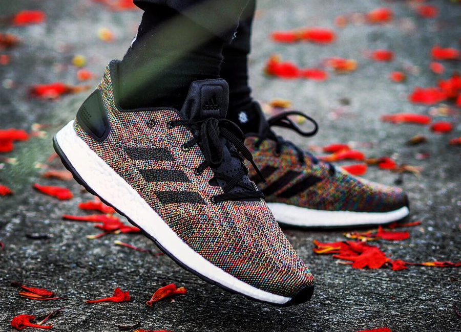 Adidas Pure Boost DPR LTD 'Rainbow Multicolor' : où l'acheter ?
