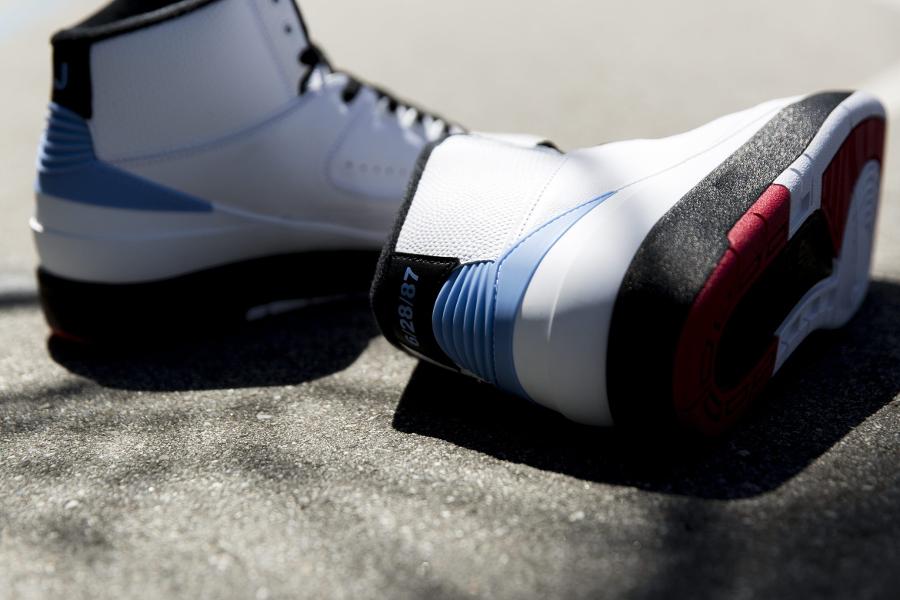 Chaussure Air Jordan 2 Retro UNC Alumni (2)
