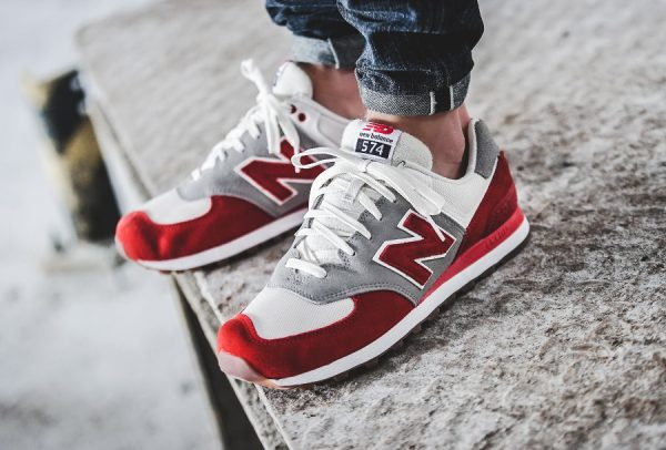 New Balance ML 574 RSB 'Red'