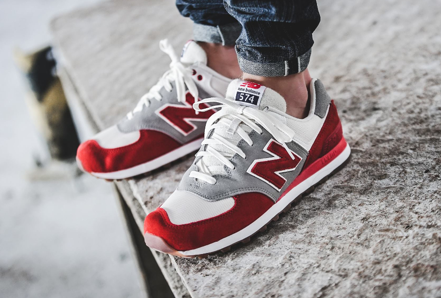 Chaussure New Balance ML574RSB Air Max 1 OG Red