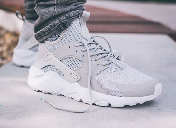 Chaussure Nike Air Huarache Ultra BR Breathe Grise homme