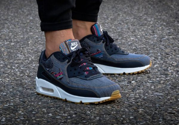 hot sale online 686db 65765 Chaussure Nike Air Max 90 PRM Afro Punk Denim (homme)