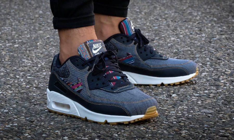 Chaussure Nike Air Max 90 PRM Afro Punk Denim (homme)
