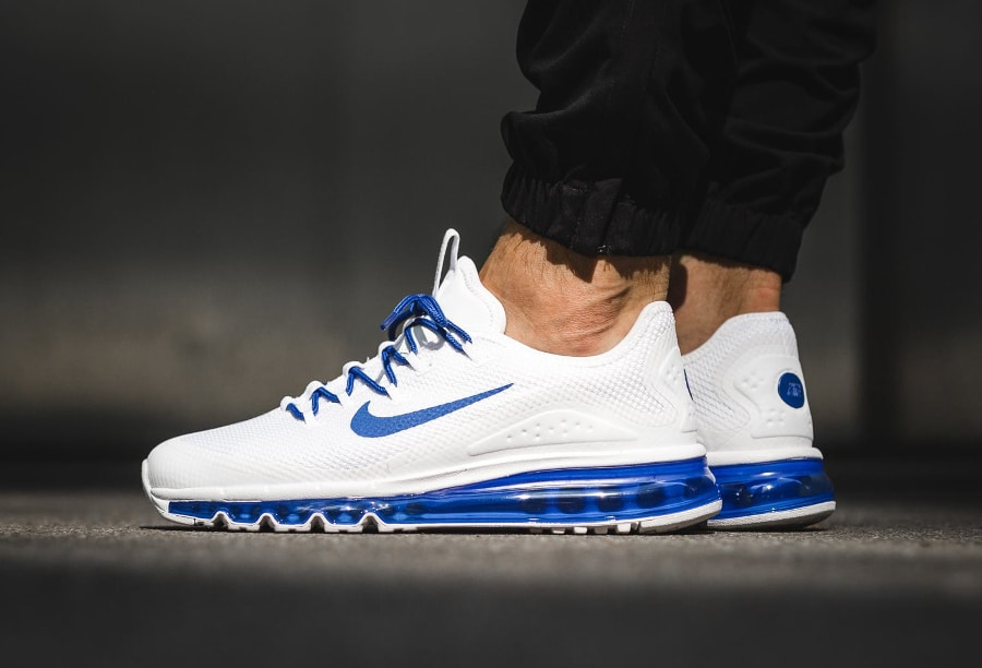 Chaussure Nike Air Max More Game Royal homme (semelle homme) (2)