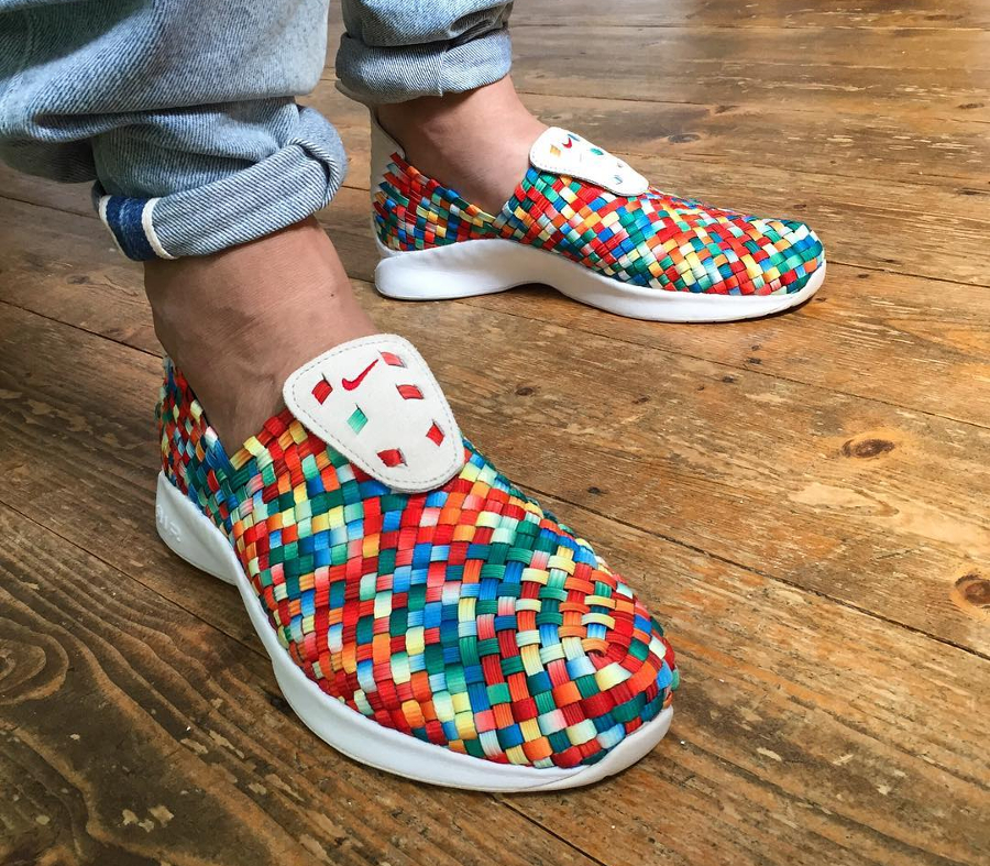 Chaussure Nike Air Woven PRM Rainbow Multicolor