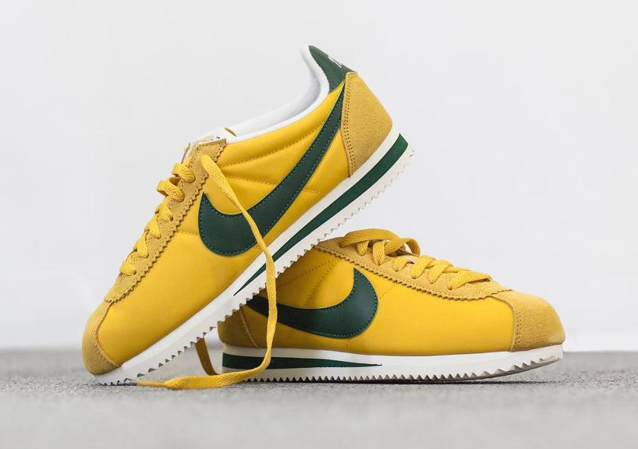 Chaussure Nike Cortez Nylon PRM Oregon XLV (1)